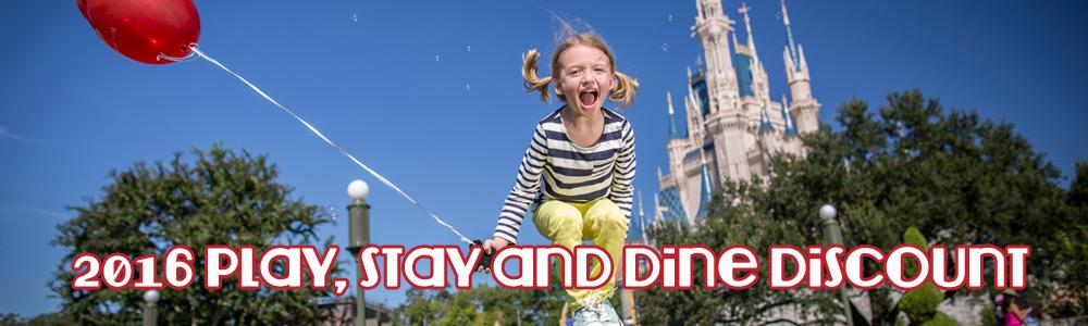 Disney World Play Stay Dine