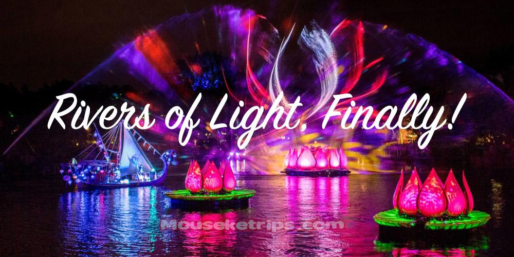rivers of light finally