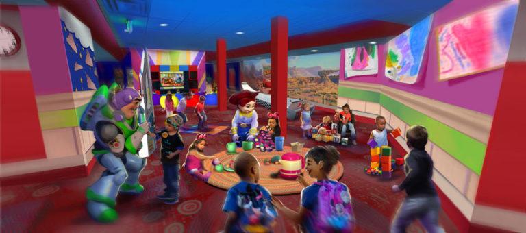 Pixar Play Zone Contemporary